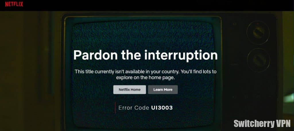 A US resident who opens Netflix in Morocco will see such a screen in 97.5% of cases.
